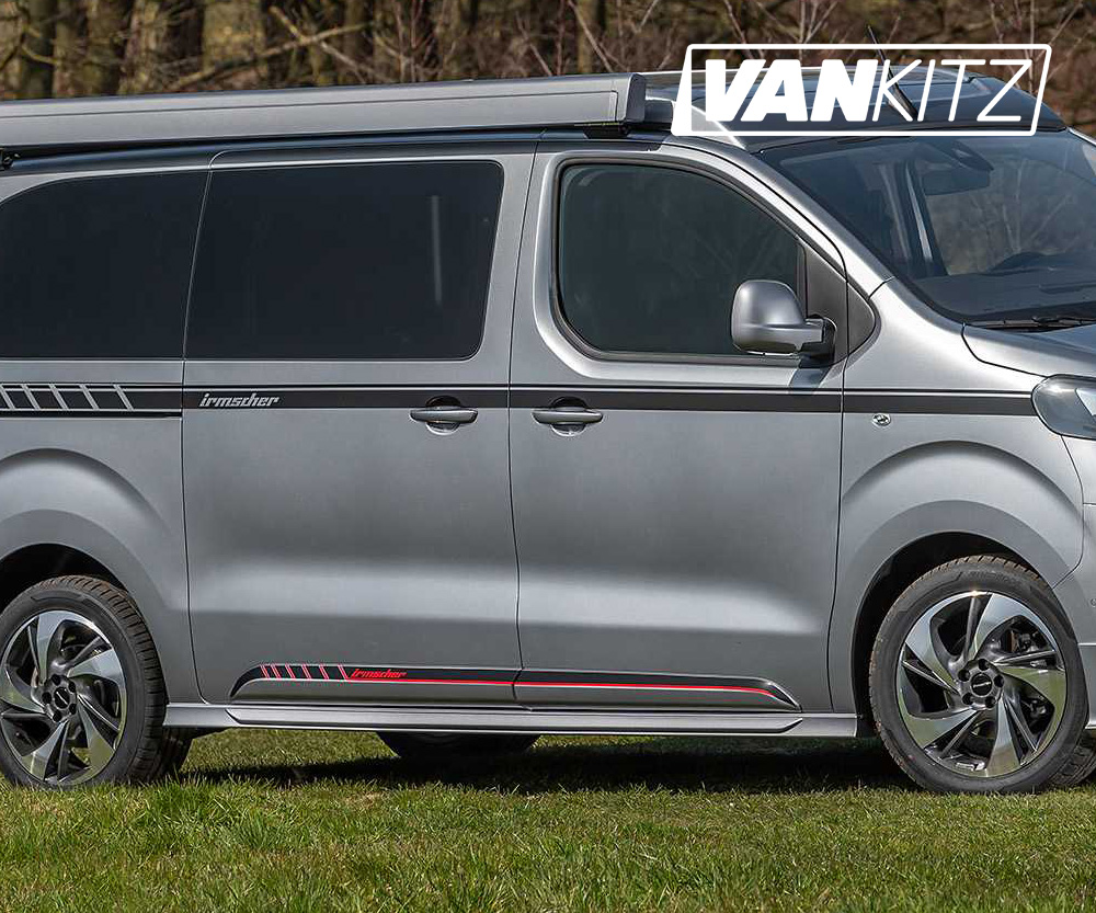 Sopa sammansmältning Anonym  Irmscher Side Skirts for Vivaro (2019 to Present), Expert/Dispatch/ProAce  (2016 to Present) | Van Styling & Tuning | Vivaro, Trafic, Transit Custom,  NV300, Expert Jumpy, Proace